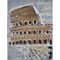 Giovanni Russo 'Coliseum Di Roma' Hand-painted Canvas Art