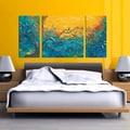 Megan Aroon Duncanson 'Dream Watchers' Textured Canvas Art Print Triptych