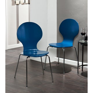 Holly & Martin Conbie Navy Blue Chairs (Set of 2)