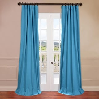 Bright Cotton Twill Curtain Panel