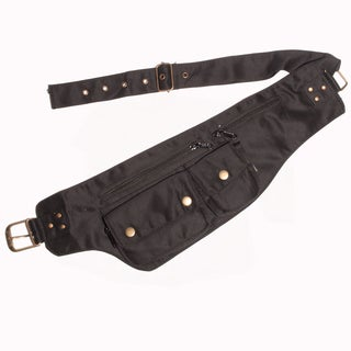 Unisex Cotton Travel Utility Belt Hip Pack (India)