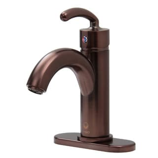 Vigo Single Lever Oil Rubbed Bronze Bathroom Faucet with Drain Assembly and Deck Plate