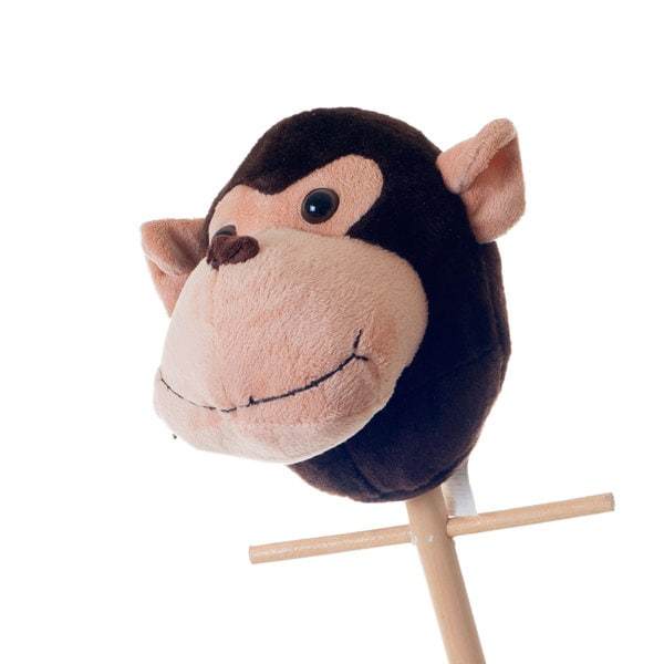 Happy Trails Maggie the Monkey Animal Stick