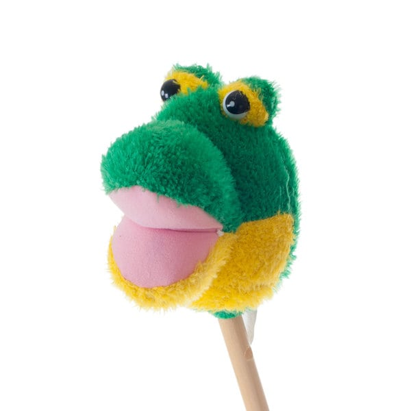 Happy Trails Freddie the Frog Animal Stick