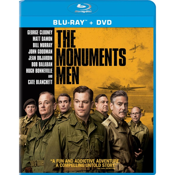 Monuments Men (Blu-ray/DVD) 12672438