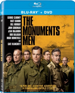 Monuments Men (Blu-ray/DVD)
