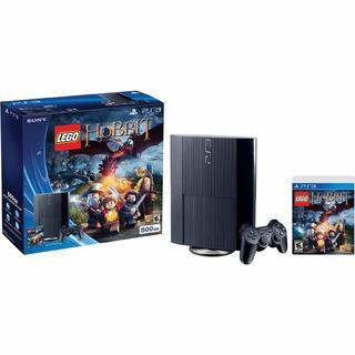 Sony Playstation 3 Black 500 GB w/ LEGO The Hobbit Bundle