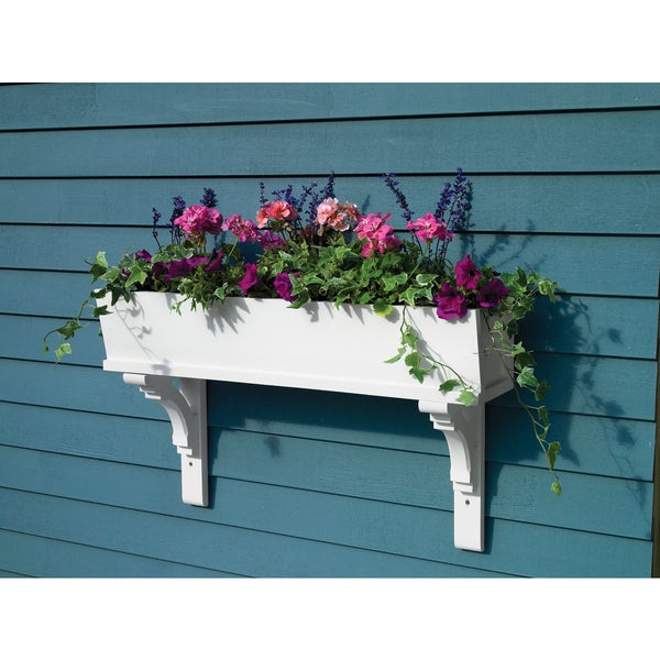 Lazy Hill Farm Designs 'Sunrise' White Window Box