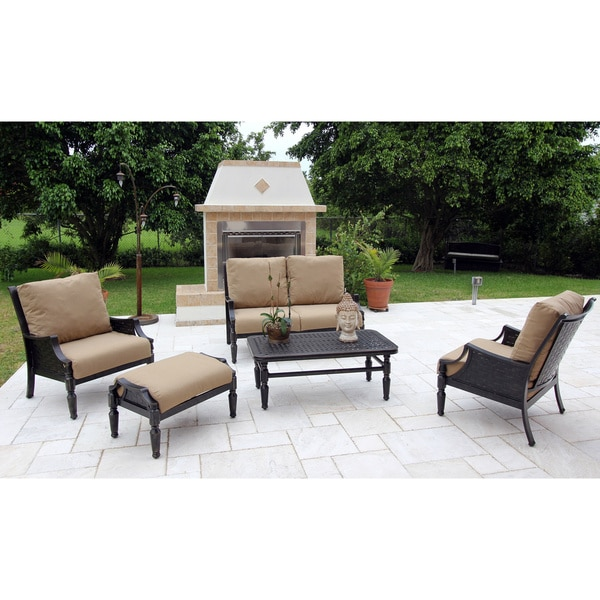 Bromley Woven Cast 5-piece Deep Seating