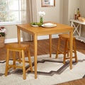 Belfast 3-piece Saddle Dining Set