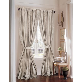 Rose Tree Wingate Leaf Curtain Panel Pair