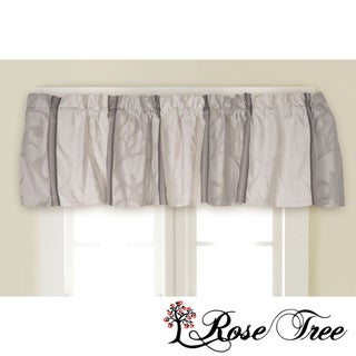 Rose Tree Wingate Leaf Window Valance