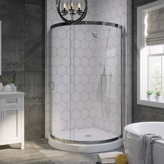 Ove Decors 'Breeze' 38-inch Shower Enclosure with Base