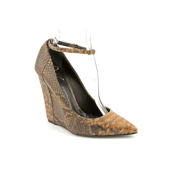 Giuseppe Zanotti Women's 'I16103' Animal Print Dress Shoes (Size 8)