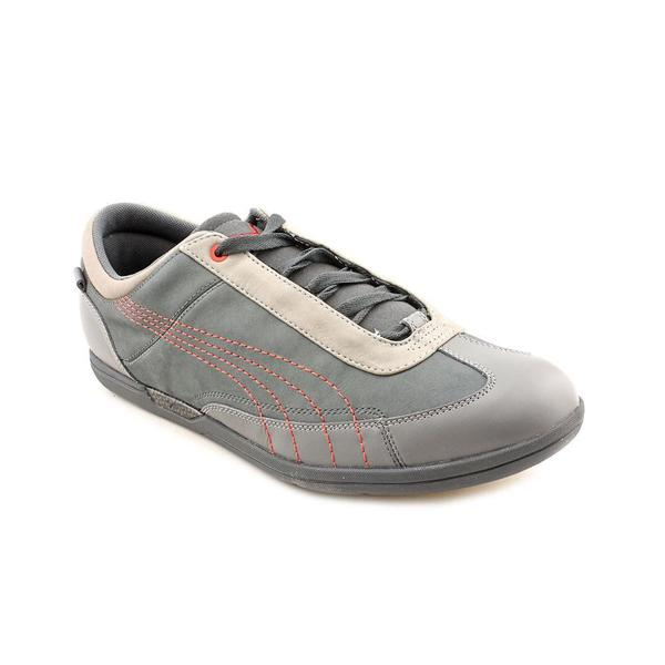 Puma Men's 'Driving Power Lo Lea' Leather Athletic Shoe (Size 14 )