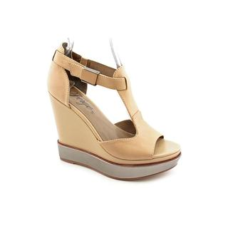 Fergie Women's 'Marquee' Leather Sandals (Size 10 )