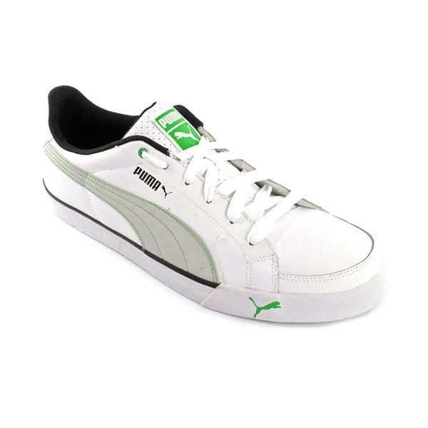 Puma Men's 'Court Point' Leather Athletic Shoe (Size 12 )