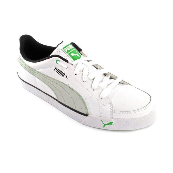 Puma Men's 'Court Point' Leather Athletic Shoe (Size 12 )