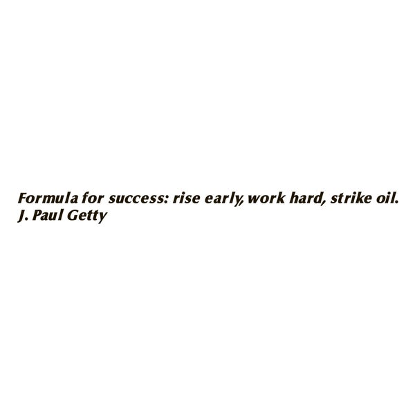 Success Quote 'Formula for Success' Black Vinyl Wall Decal Sticker