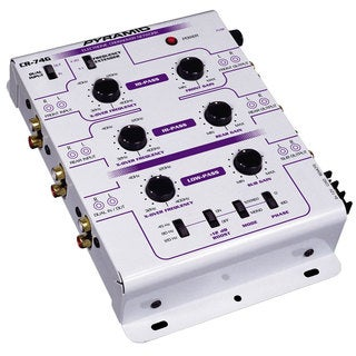 Pyramid 3-way 6-channel Electronic Crossover System (Refurbished)