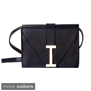"Isaac Mizrahi Women's Genuine Leather ""I"" Clutch"