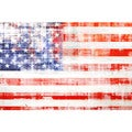 Marmont Hill Art Collective 'American Flag' Canvas Art