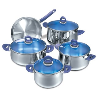 Korkmaz Mavis 9-piece Stainless Steel Cookware Set