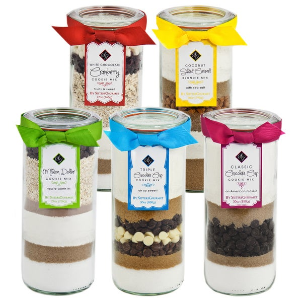 Sisters' Gourmet Select Layered Baking Mixes (Pack of 5)