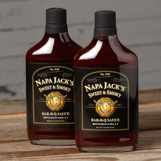 Napa Jack's Sweet & Smoky Bar-B-Q Sauce (Pack of 2)