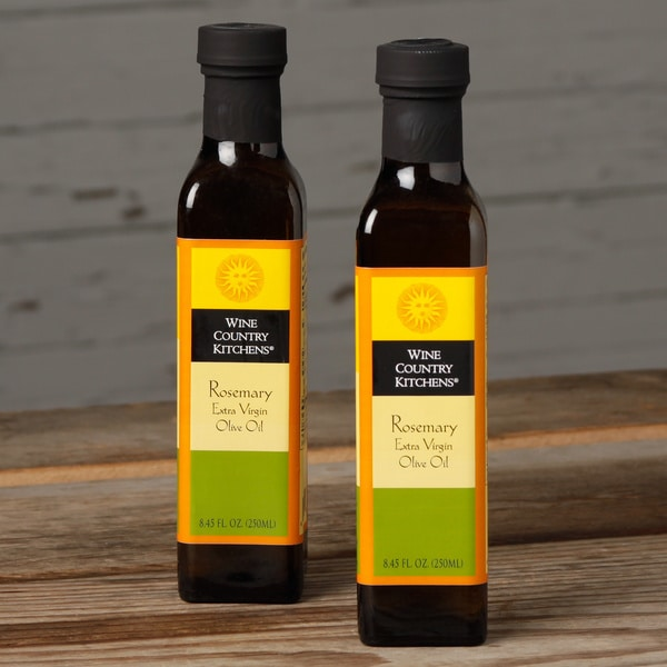 WIne Country Kitchens Rosemary Extra Virgin Olive Oil (Pack or 2)