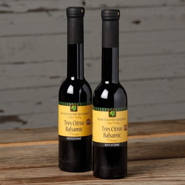 Wine Country Kitchens Tres Citrus Balsamic Vinegar (Pack of 2)