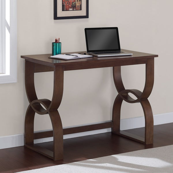 Bentwood Medium Walnut Writing Desk 16128052 Overstock