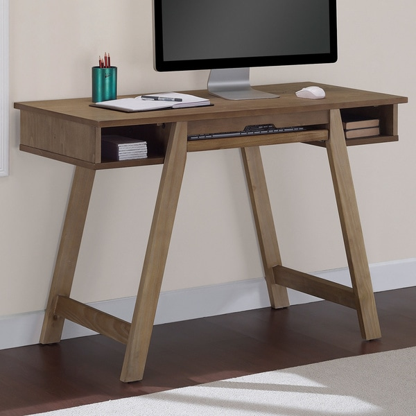 Elements Drafting Desk in Reclaimed Finish