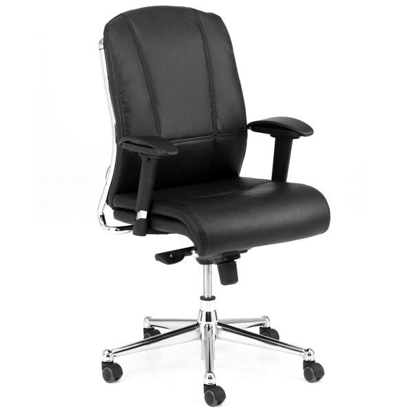 Derby Black Upholstered Task Chair