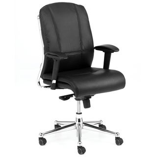 Derby Black Upholstered Task Chair