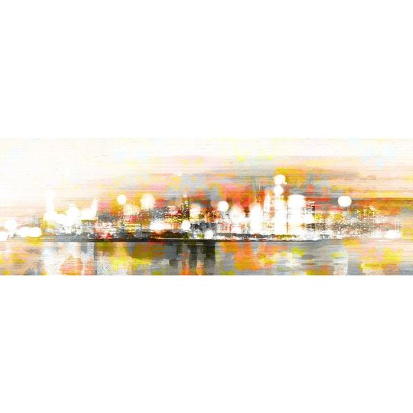 Parvez Taj 'Hong Kong' Canvas Art Print 12676988