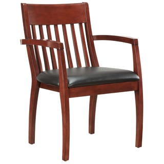 Bently Cherry Frame Slat Back Guest Chair