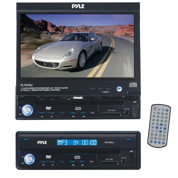 Pyle 7-inch Single DIN In-dash Motorized Touch Screen TFT/ LCD Monitor with Receiver (Refurbished)