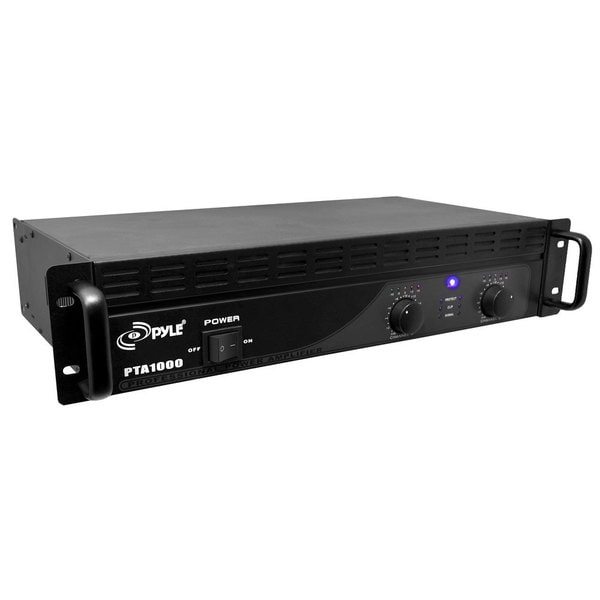 PylePro 1000-watt Professional Power Amplifier (Refurbished)