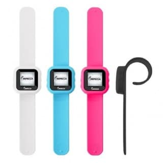 Impecca 8GB MP3 Player and Pedometer Slap Watch