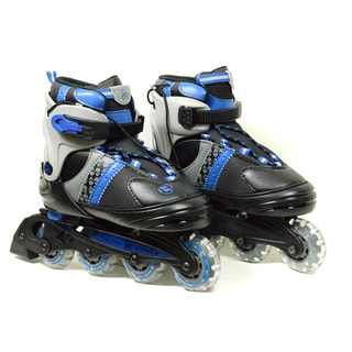 Ultra Wheels Transformer Kids Adjustable Black/ Blue In-line Skates