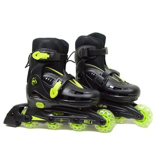 Ultra Wheels Micro Racer Adjustable Kids Yellow/ Black In-line Skates