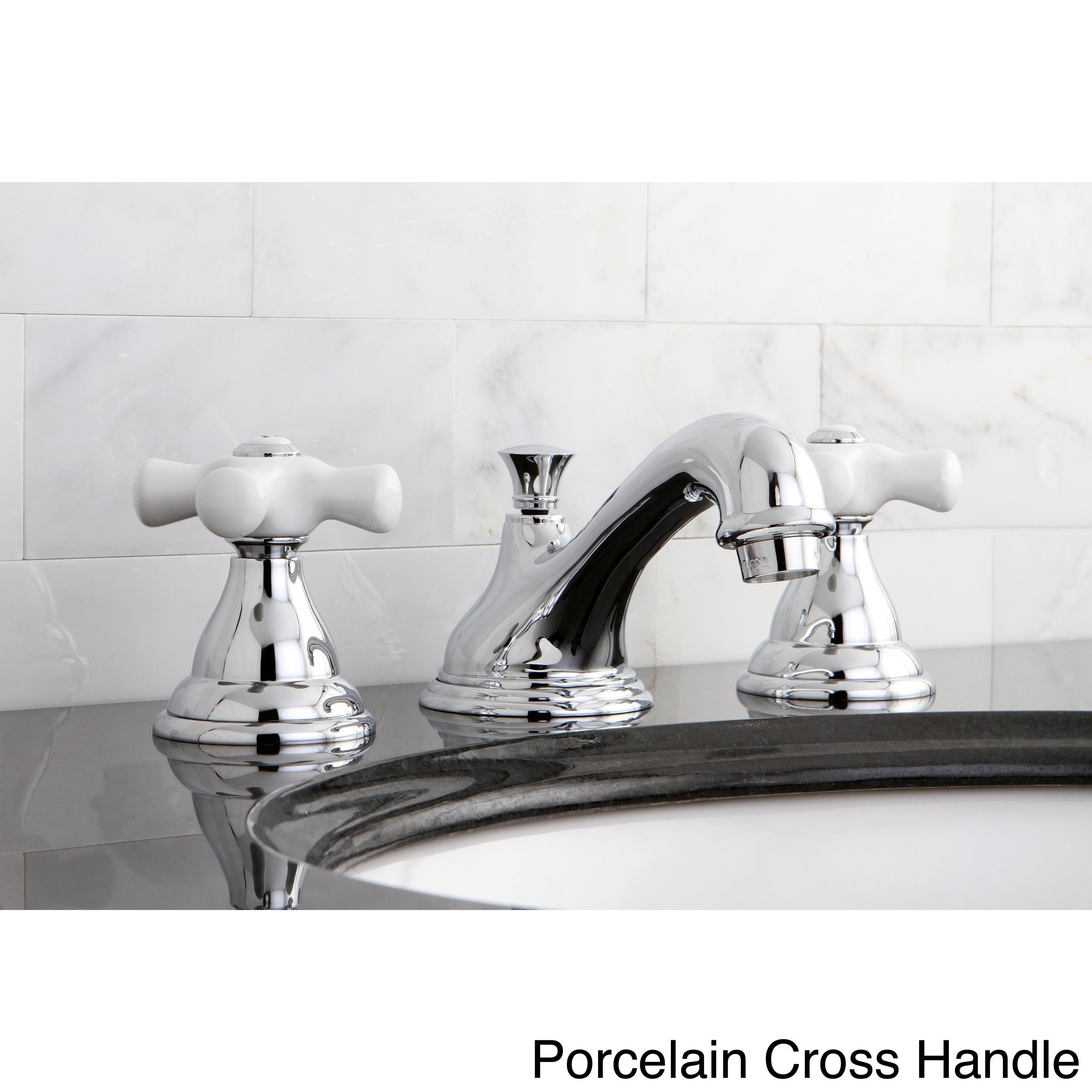 Contemporary Pks5561al Polished Chrome Widespread Bathroom Faucet