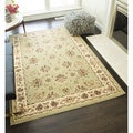 Sorrento Kashan Traditional Floral Area Rug (6'7 x 9'6)