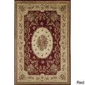 Florence 7724 Cream Traditional Floral Area Rug (6'7 x 9'6)