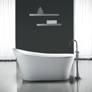 Ove Decors Rachel 70-inch Freestanding Soaking Tub