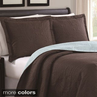 Cambria 3-piece Reversible Quilt Set