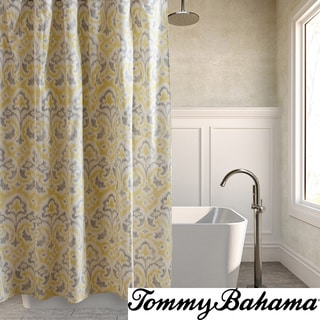 Tommy Bahama Cape Verde Mineral Cotton Shower Curtain Overstock Shopping Great Deals On