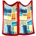 Tommy Bahama Paddleboard Squares Beach Towel (Set of 2)