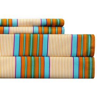 Spring Stripe Multicolored Sheet Set